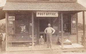 Canoe Creek Post Office-Abraham L Stiffler