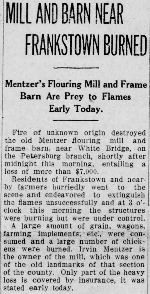 Mill burns Alt Trib_Wed__May_19__1915_